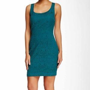 Green Lace Tart Dress